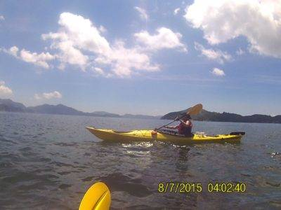 East Lamma Channal sea kayaking Hong Kong