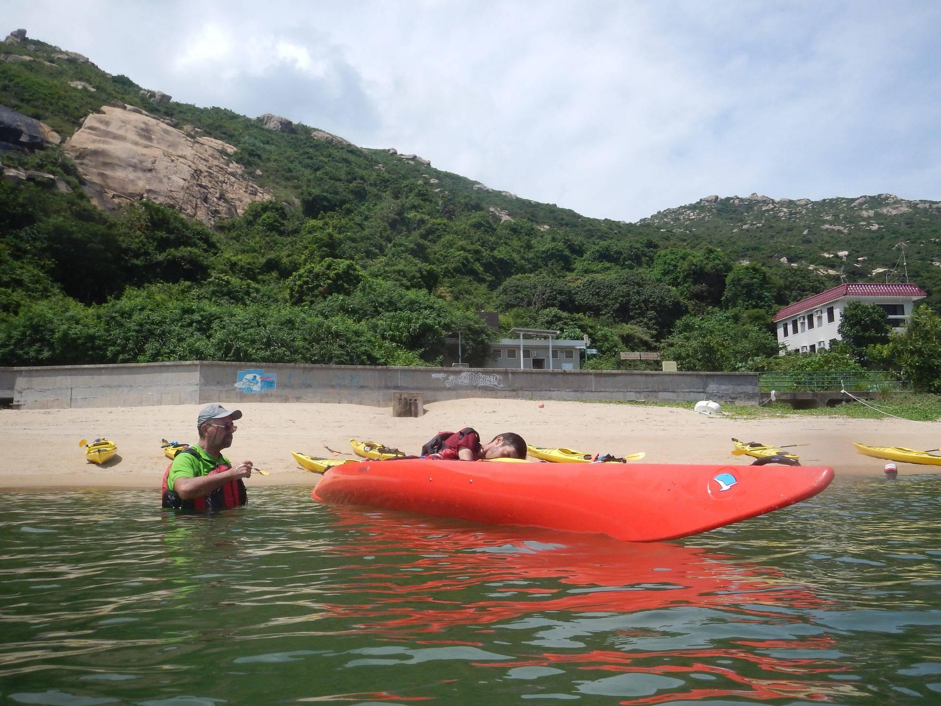 sea kayak intermediate rescue training course
