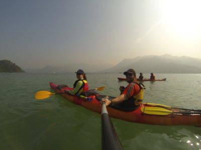 sea kayak guide / instructor