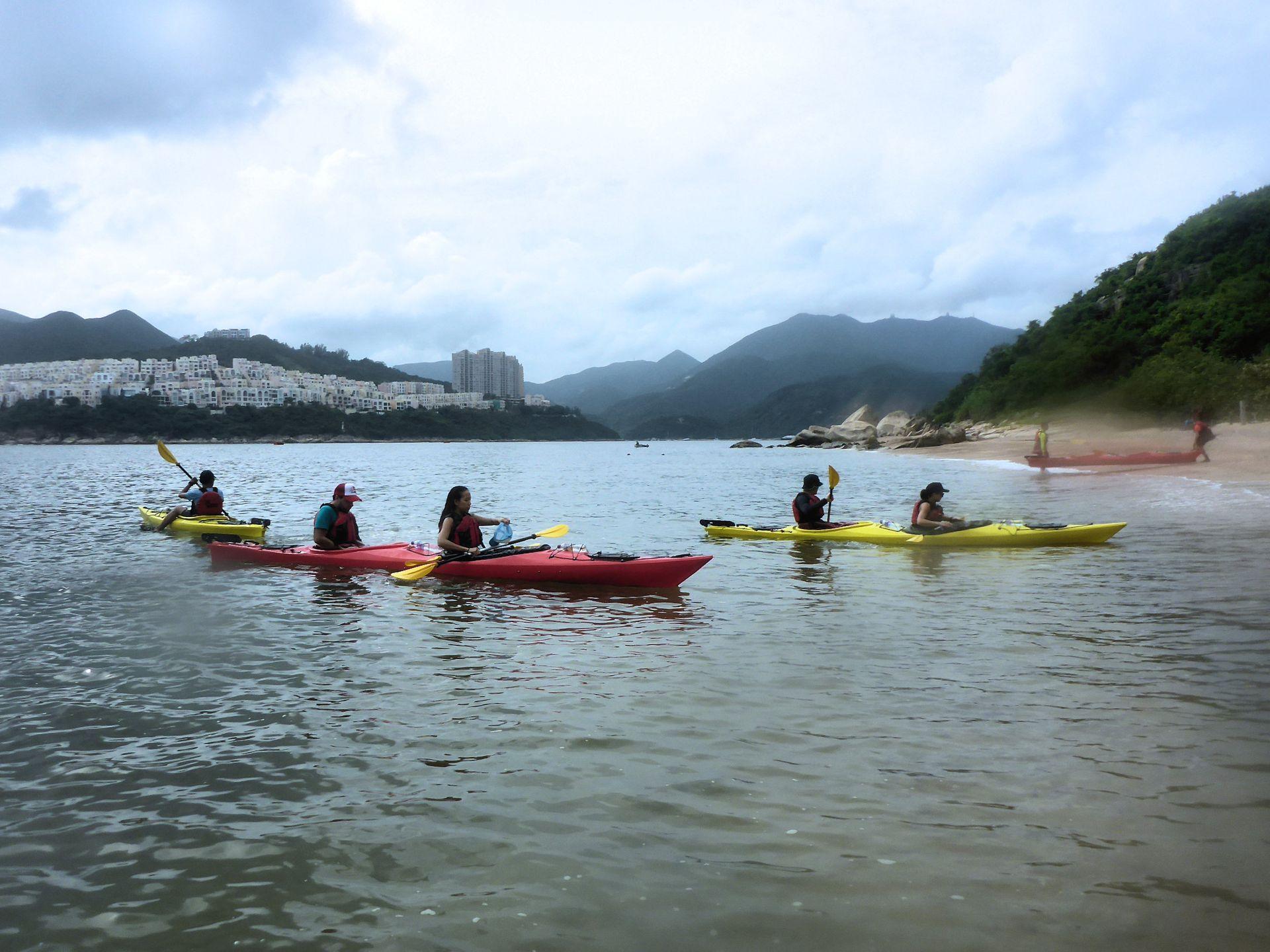 Sea Kayak Hong Kong 2018 Jul 02 Tai Tam_28