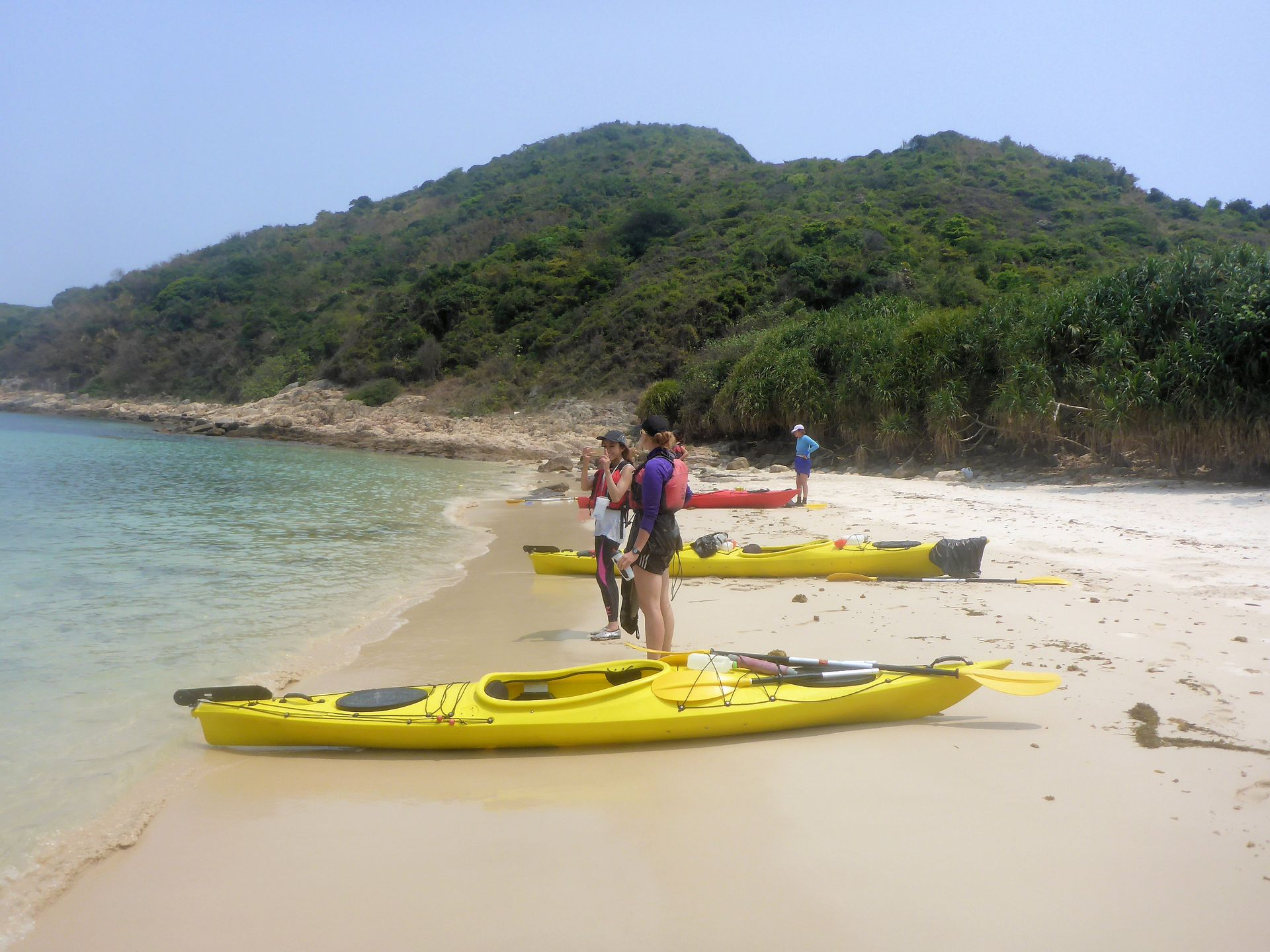 Sea Kayak Hong Kong 2018 Mar 31 Sai Kung 2 day_52
