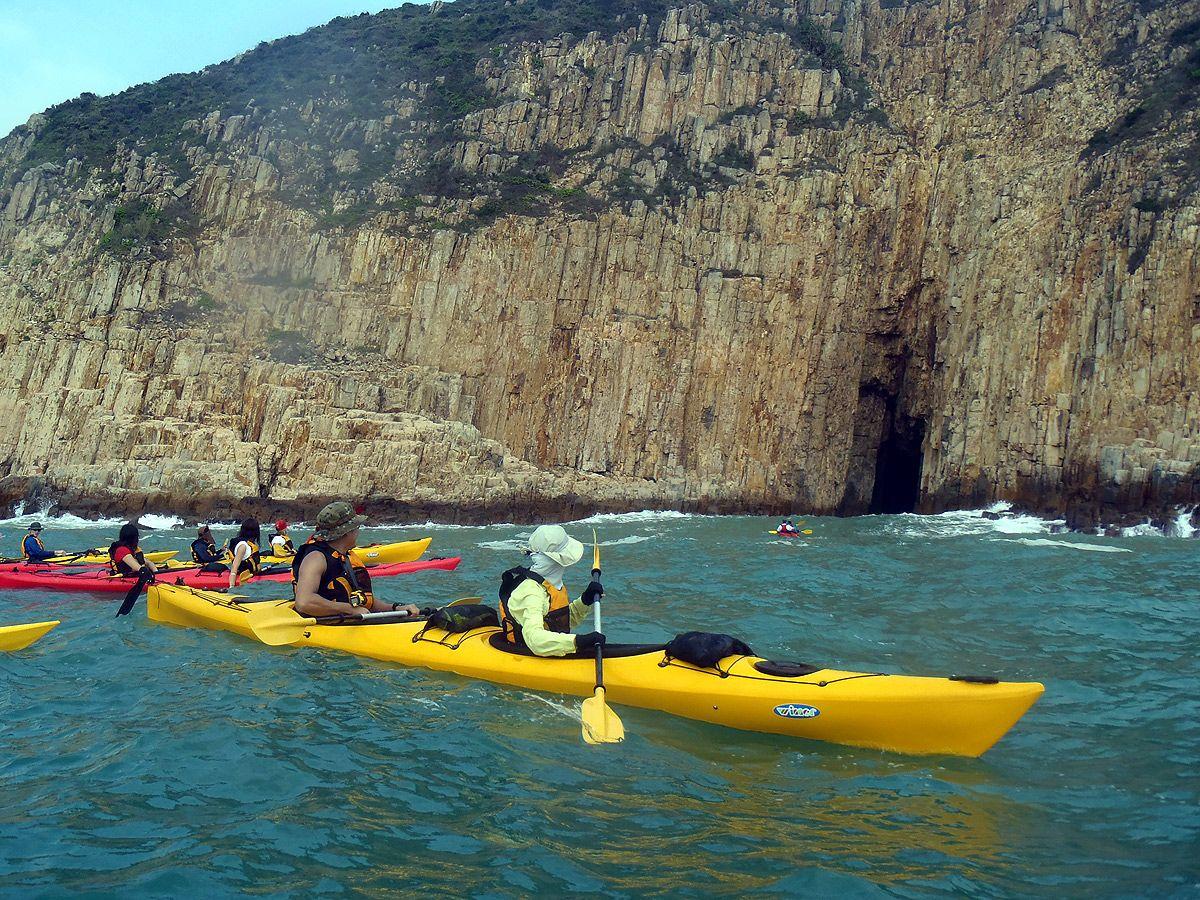 Sea Kayak Hong Kong UNESCO Geopark tour_06
