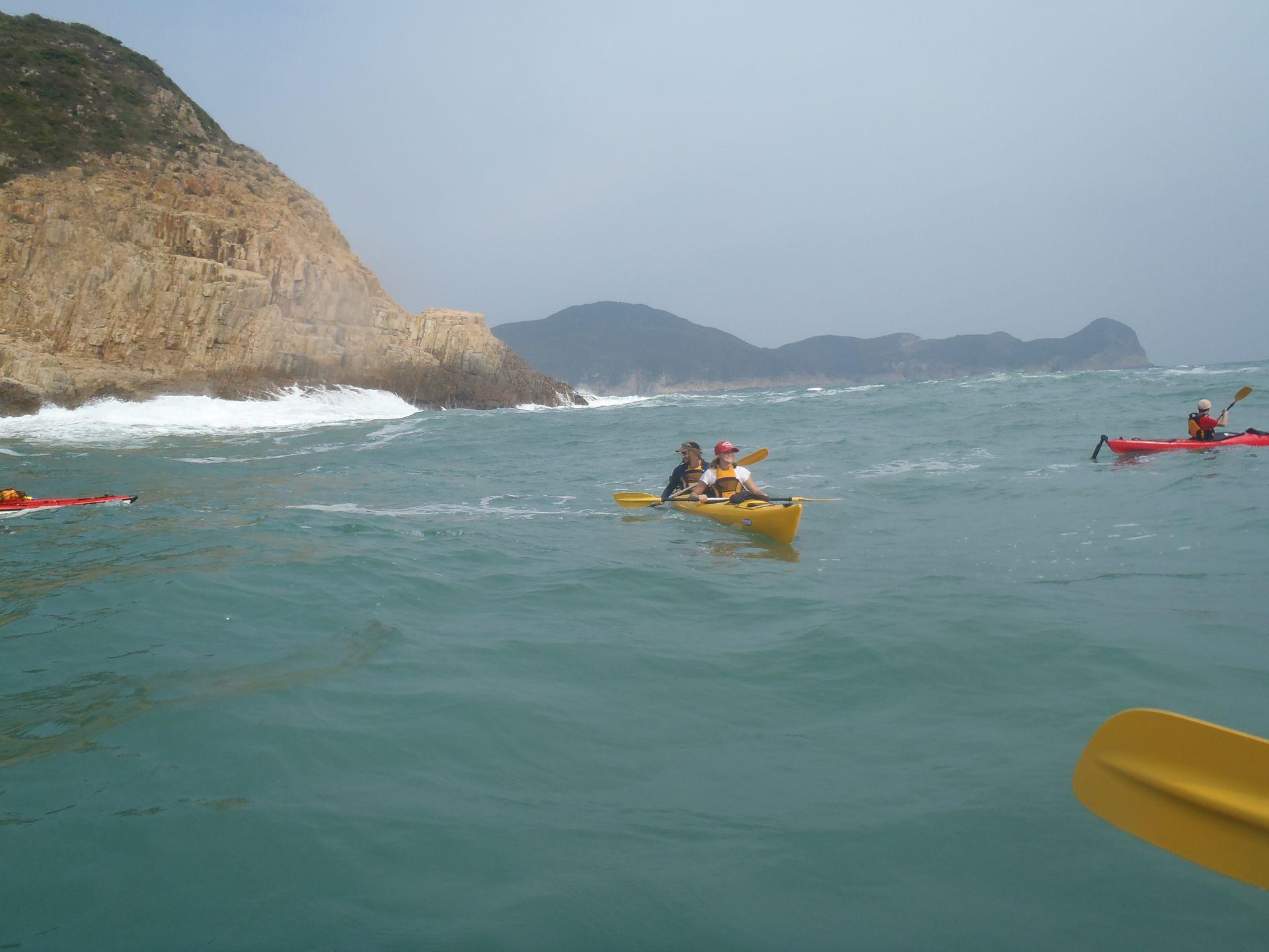 Sea kayak global geopark2