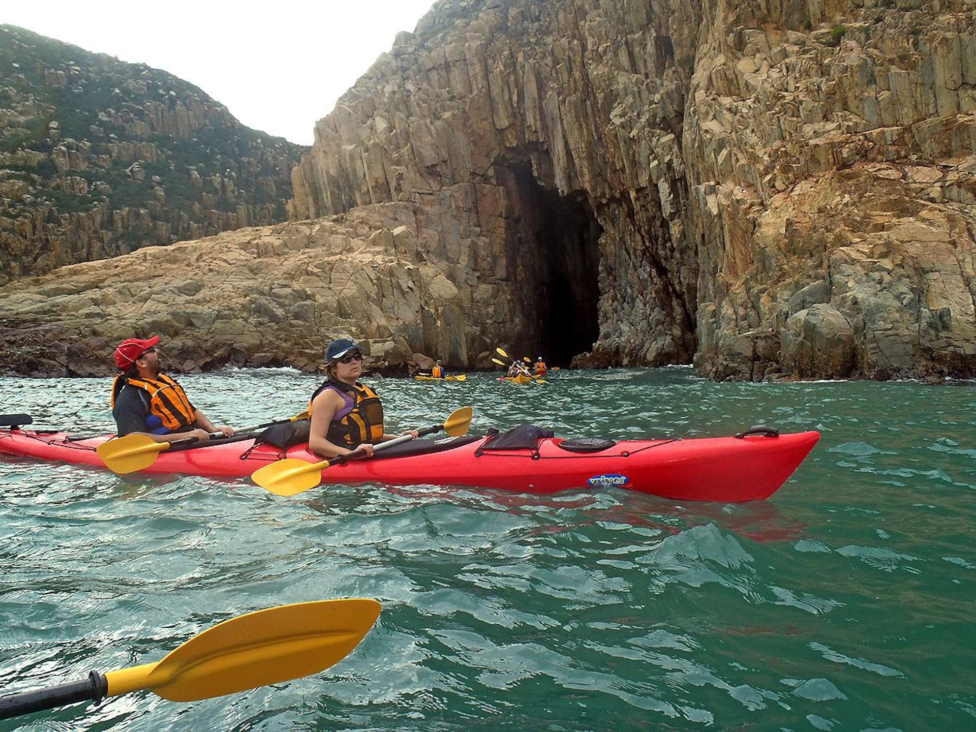 Sea Kayak Hong Kong UNESCO Geopark tour_29