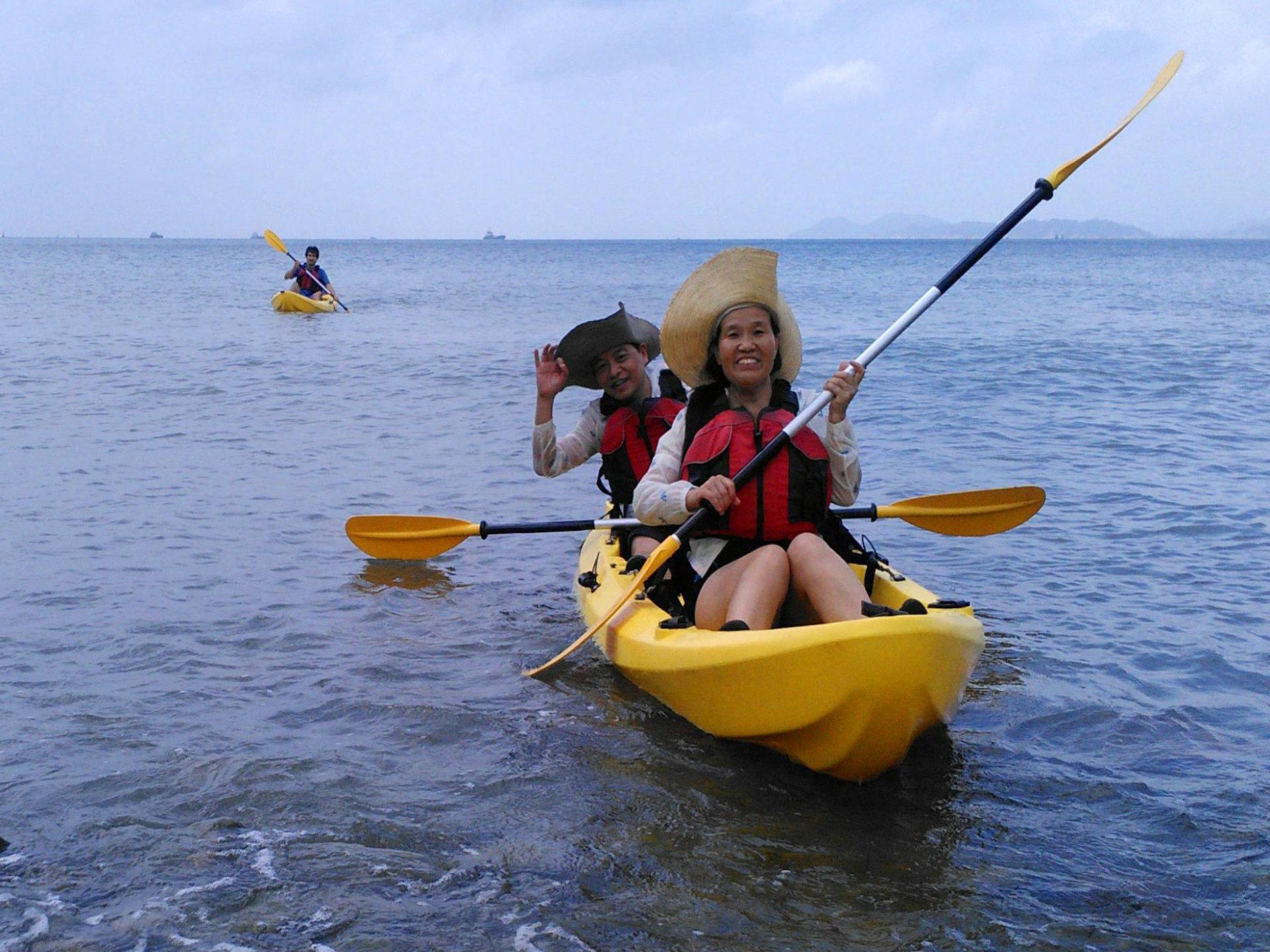 Sea Kayak Hong Kong destinations