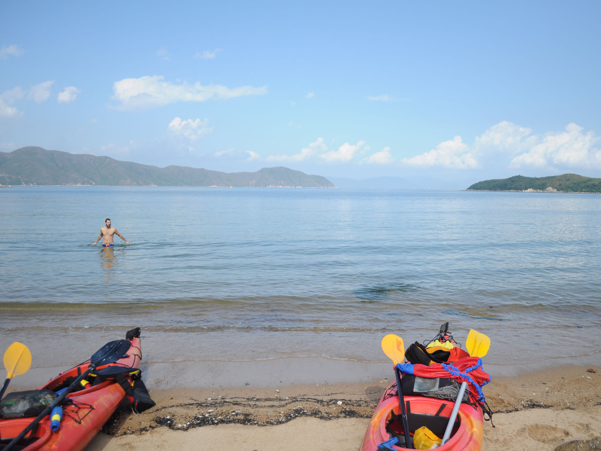 sea kayak hong kong double island geopark 01