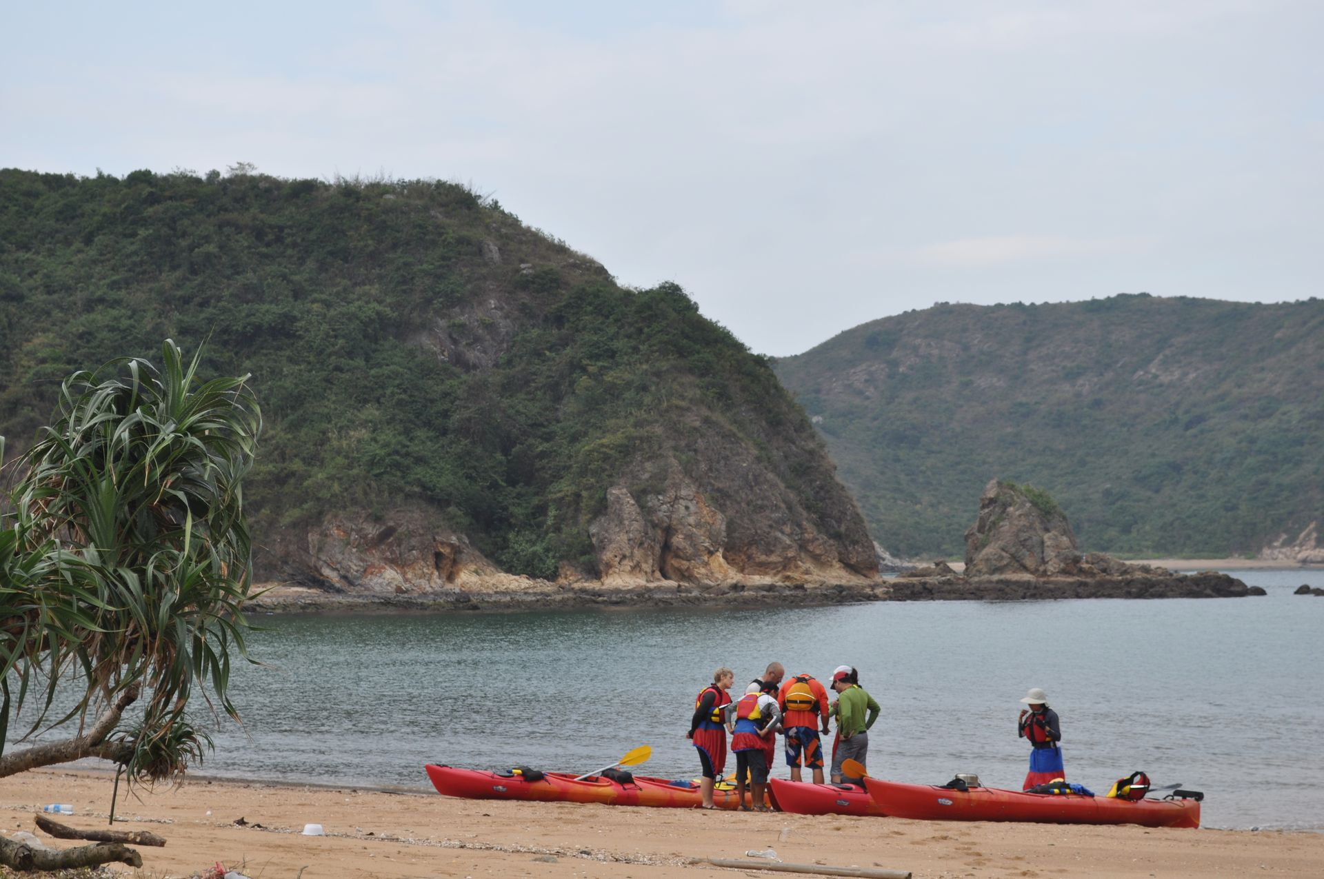 Double Haven Unesco Geopark Sea Kayak