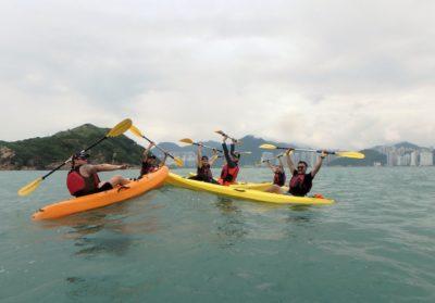 Dog Island Hong Kong sea kayaking