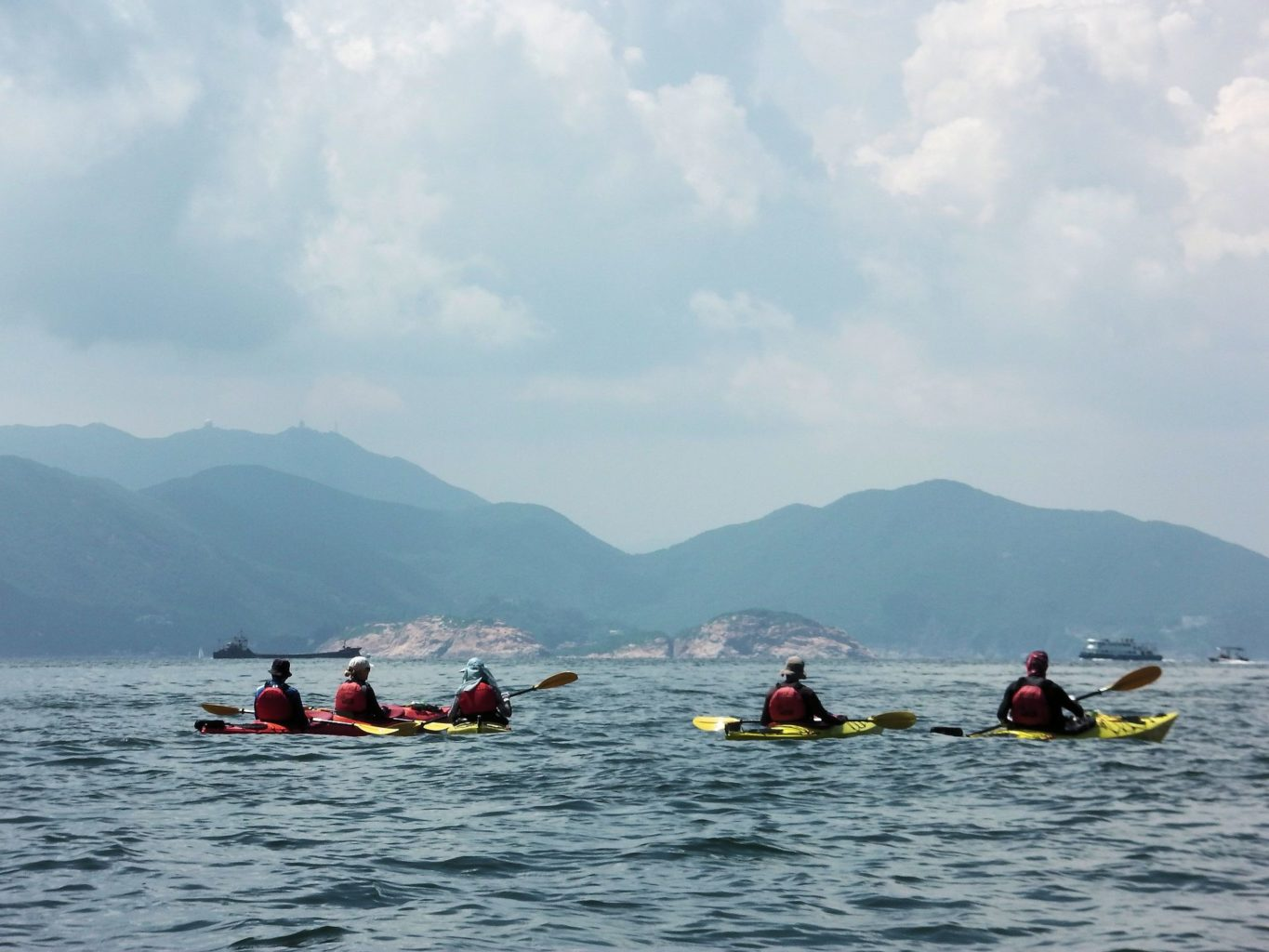 Sea Kayak Hong Kong 2018 Aug 5 Po Toi_14