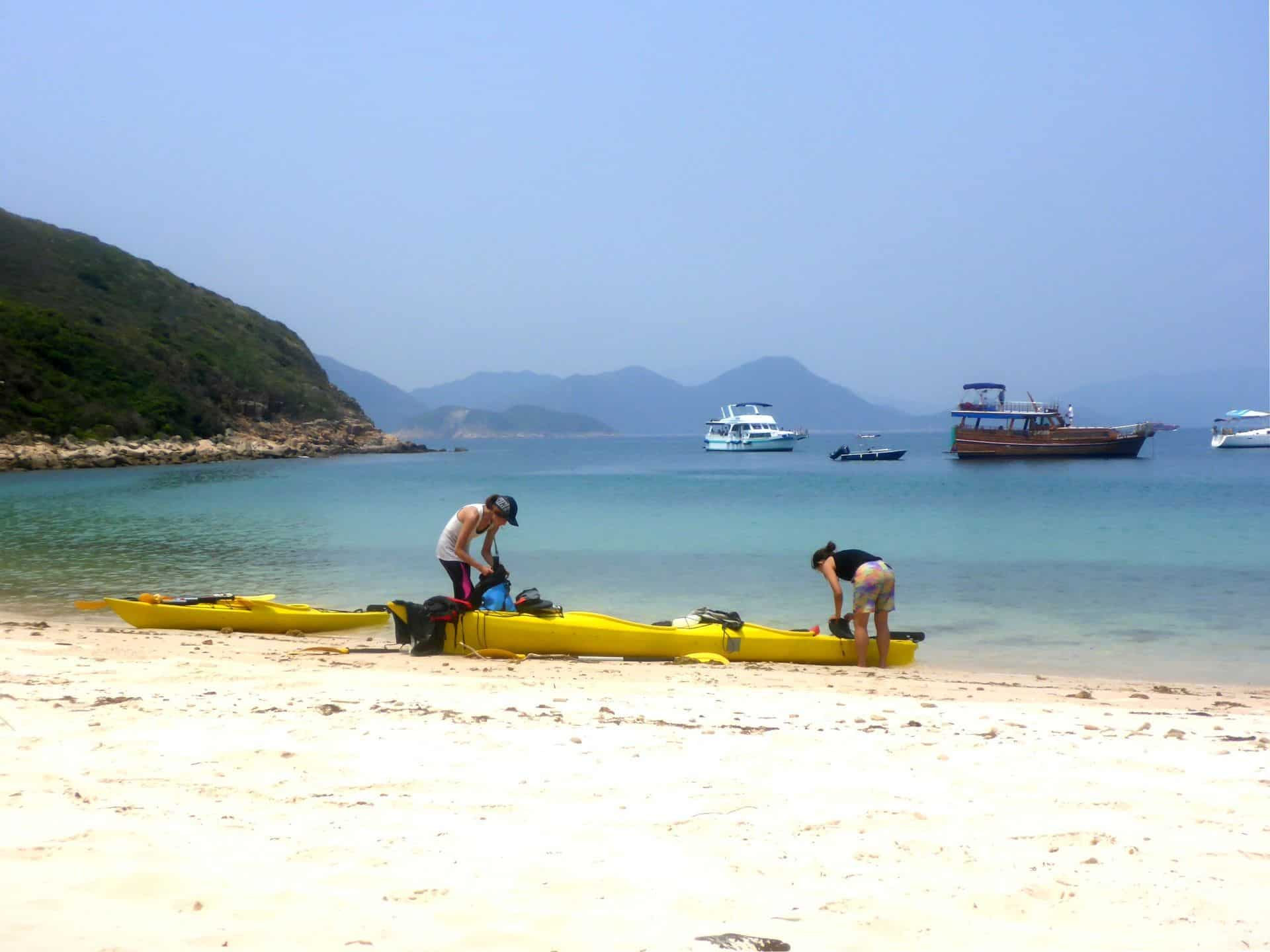 Sea Kayak Hong Kong 2018 Mar 31 Sai Kung 2 day_55