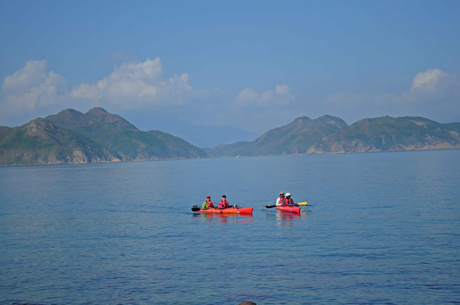 Sea Kayak Hong Kong double haven_02