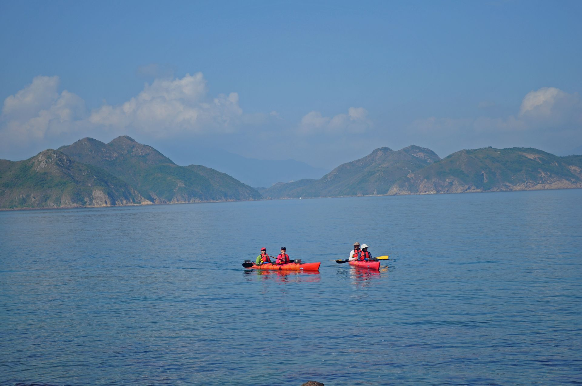 Sea Kayak Hong Kong double haven_02