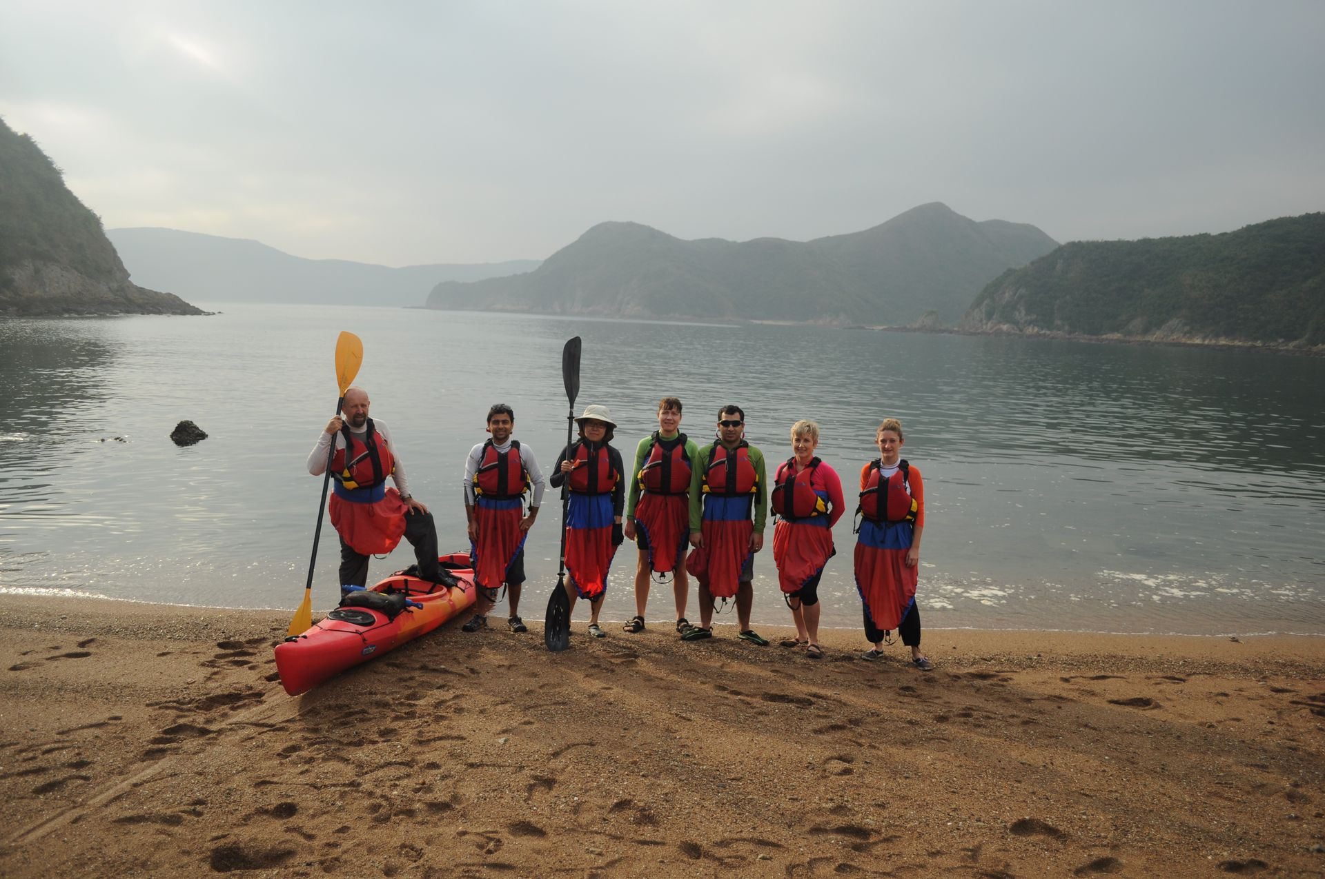 Sea Kayak Hong Kong double haven_07
