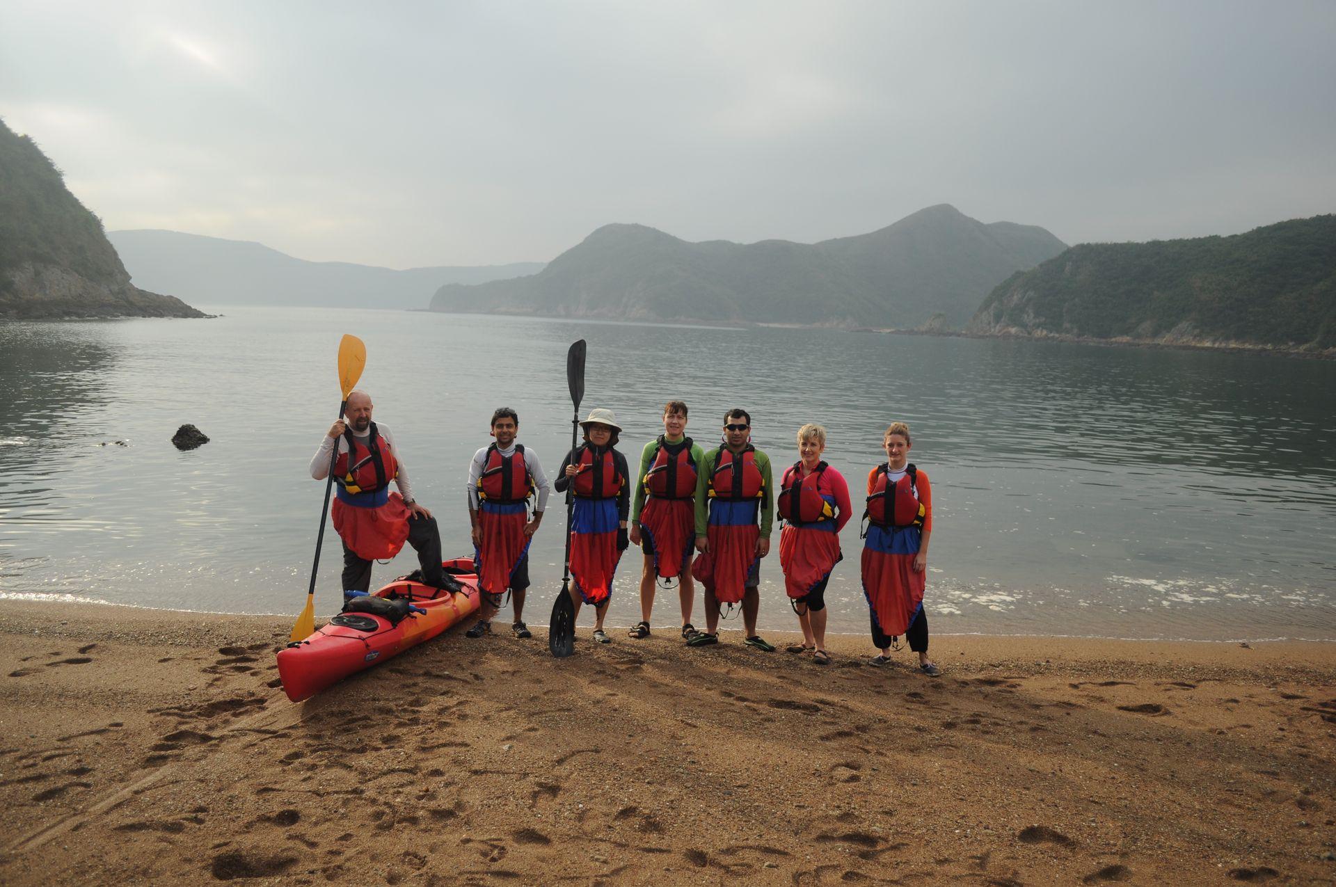 Sea Kayak Hong Kong double haven_07