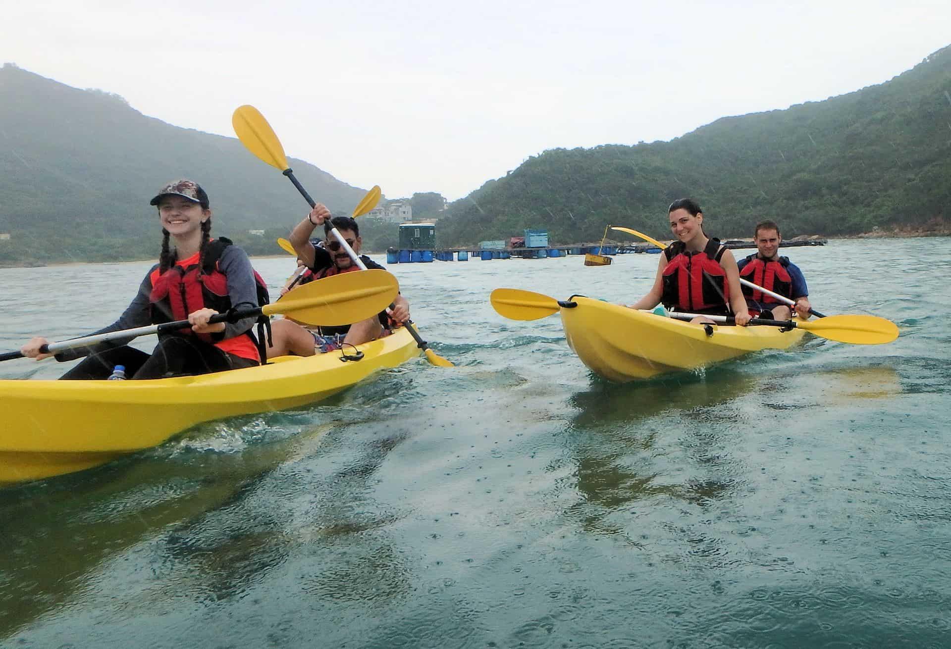 Kayak Dog Island, Hong Kong2
