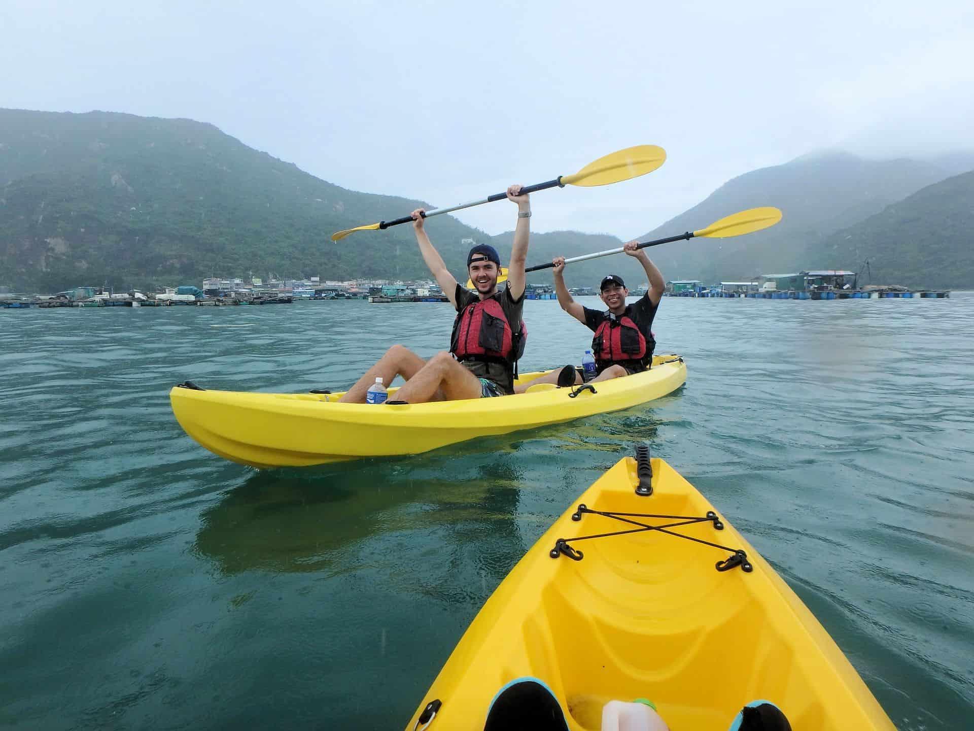 Dog Island - sit on top kayaks