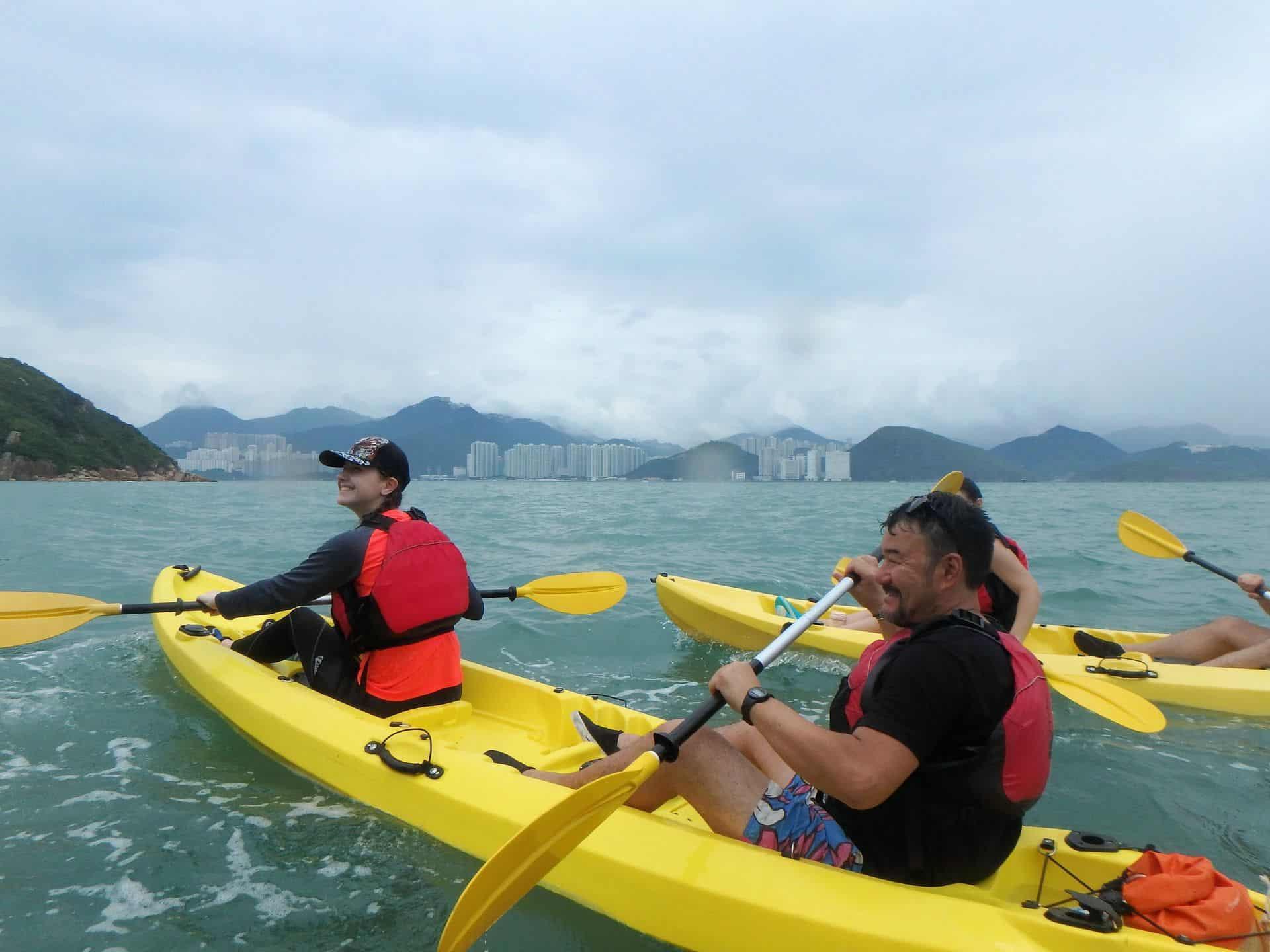 Kayak Dog Island, Hong Kong3