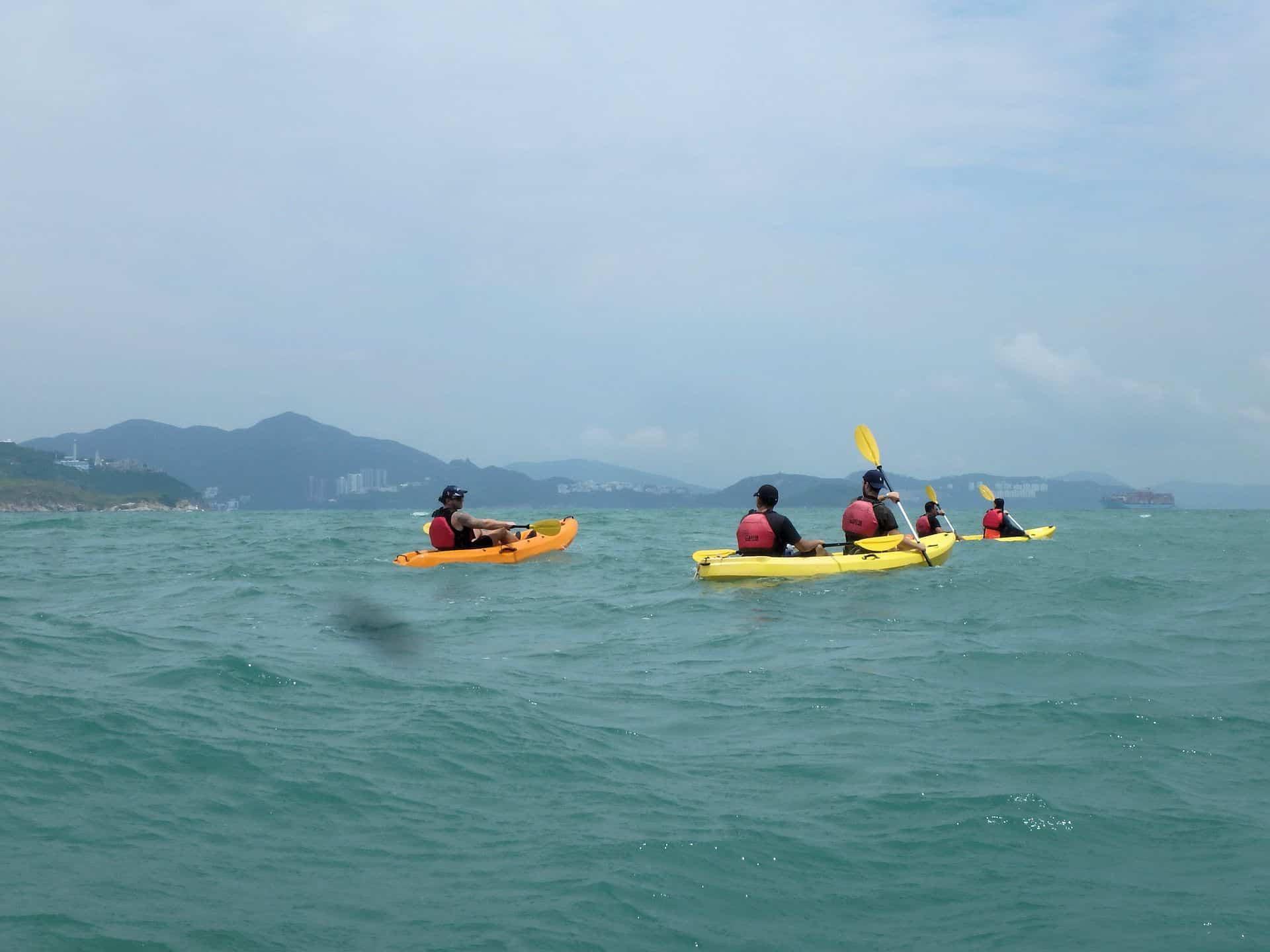 Kayak Dog Island, Hong Kong4