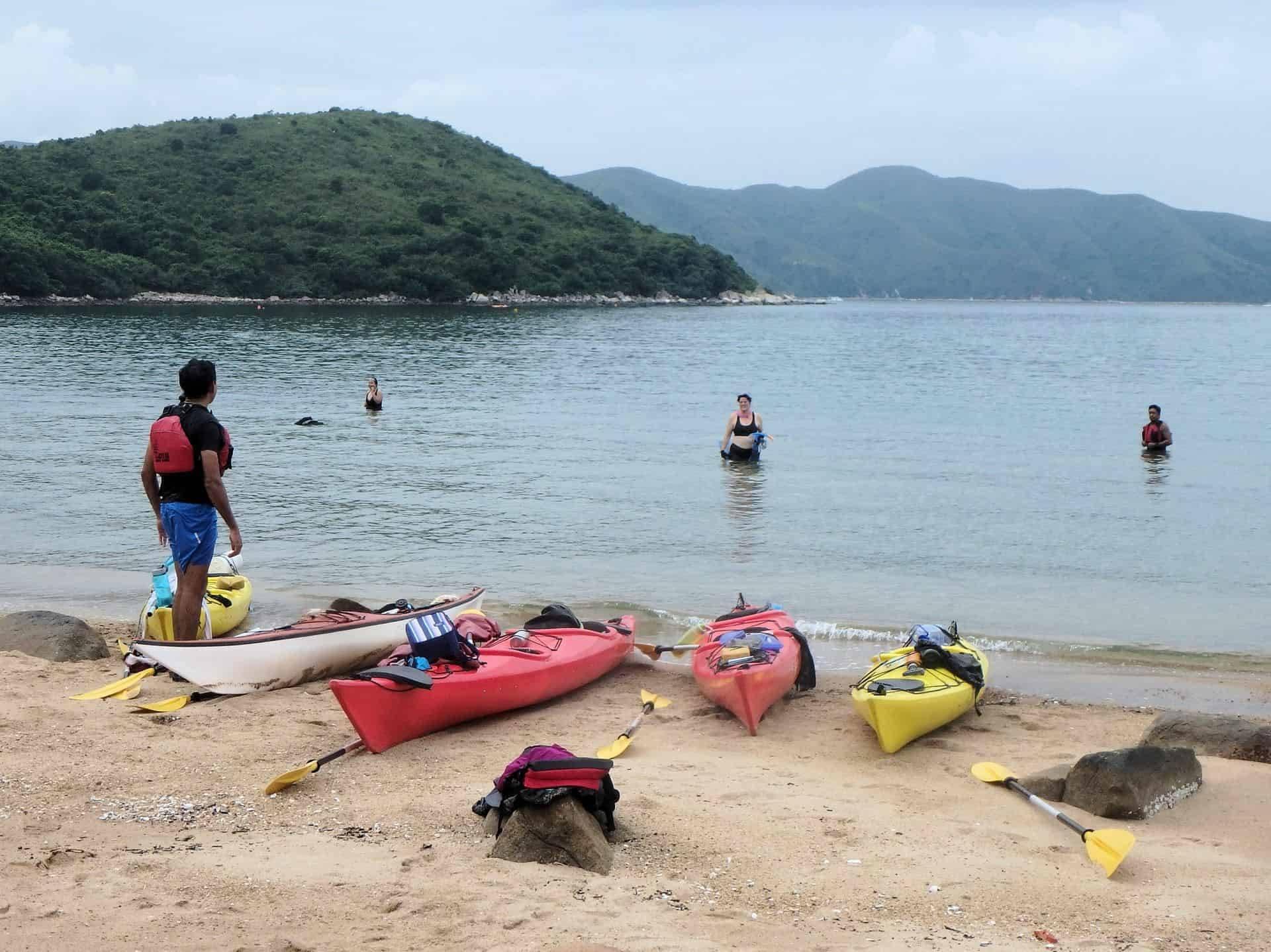 Tolo Channel - UNESCO Geopark sea kayak trip