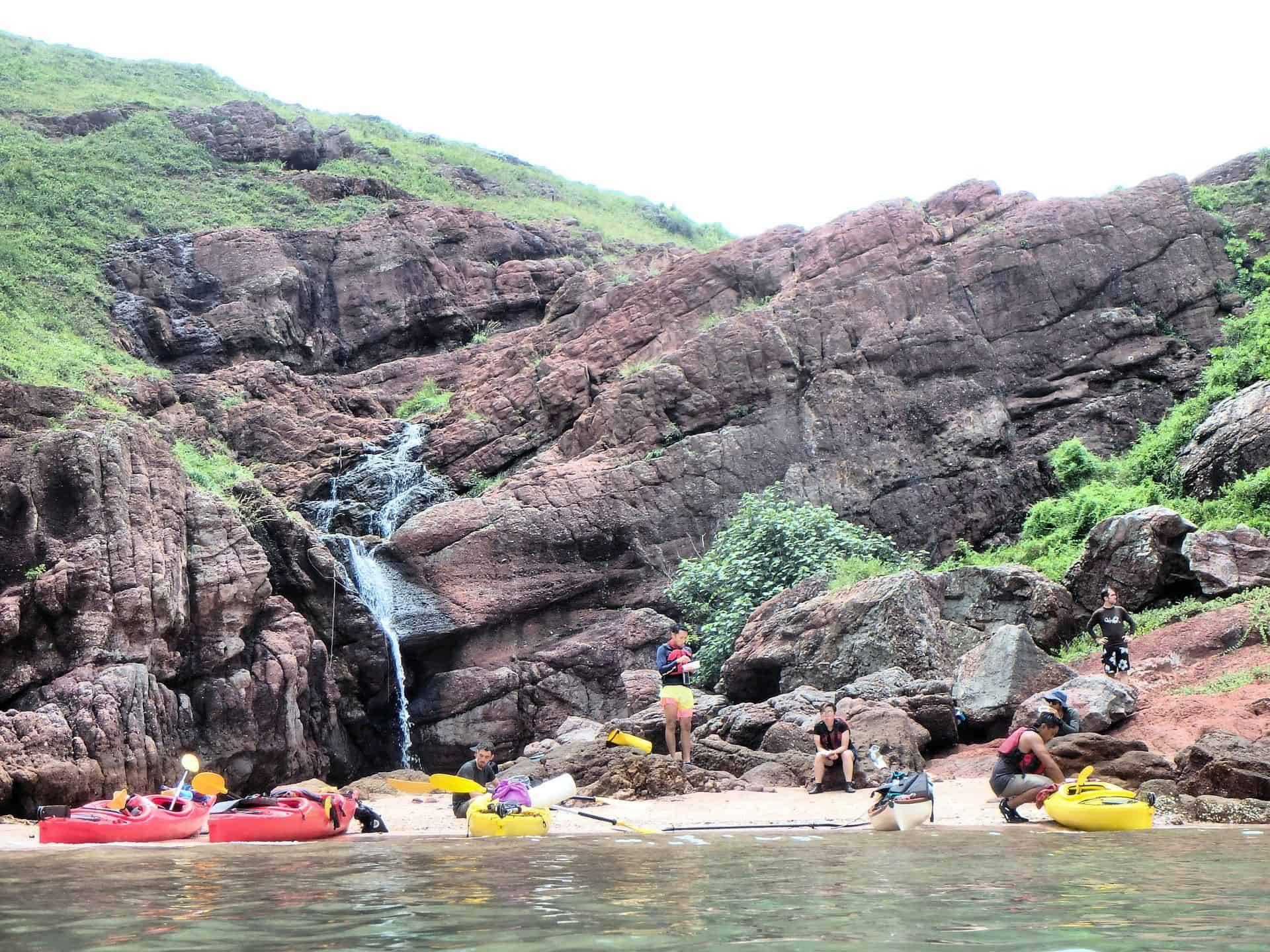 Port Island - Unesco Geopark sea kayak trip