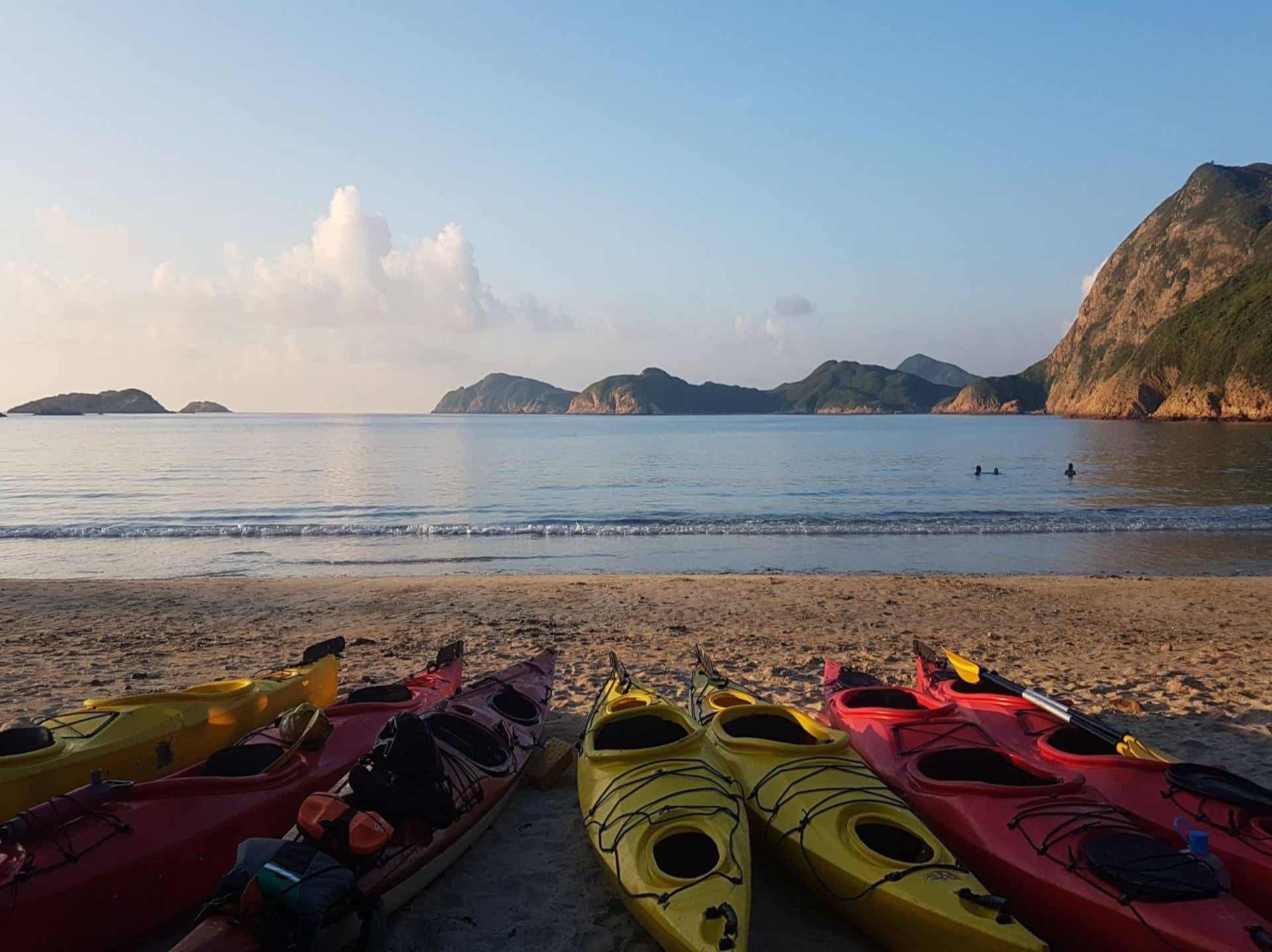 Sea Kayak Hong Kong UNESCO Geopark 22