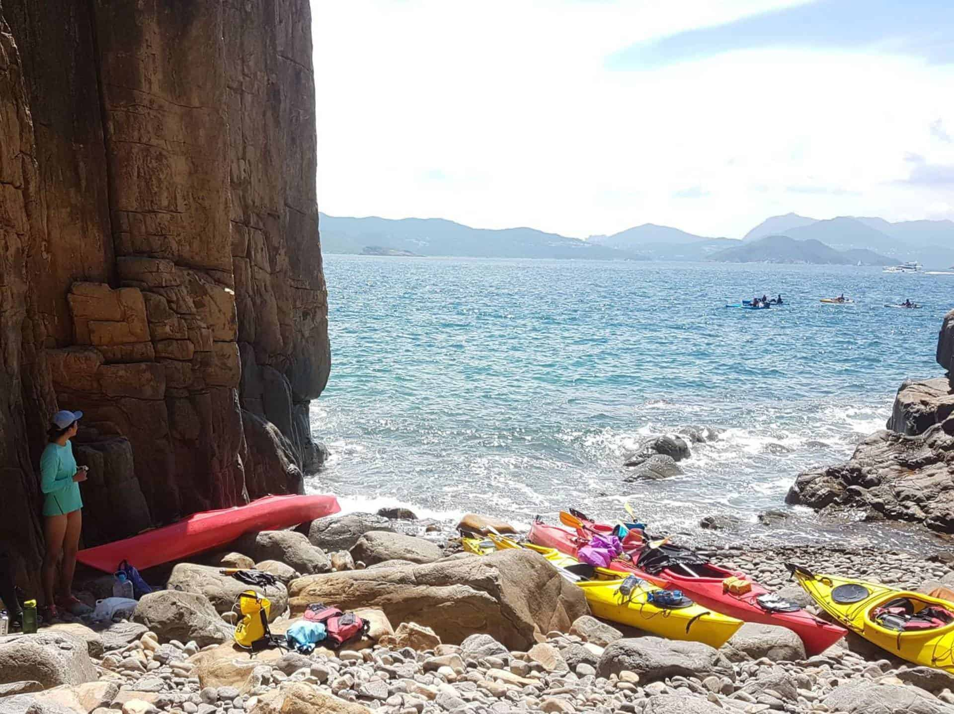 Sea Kayak Hong Kong UNESCO Geopark 27