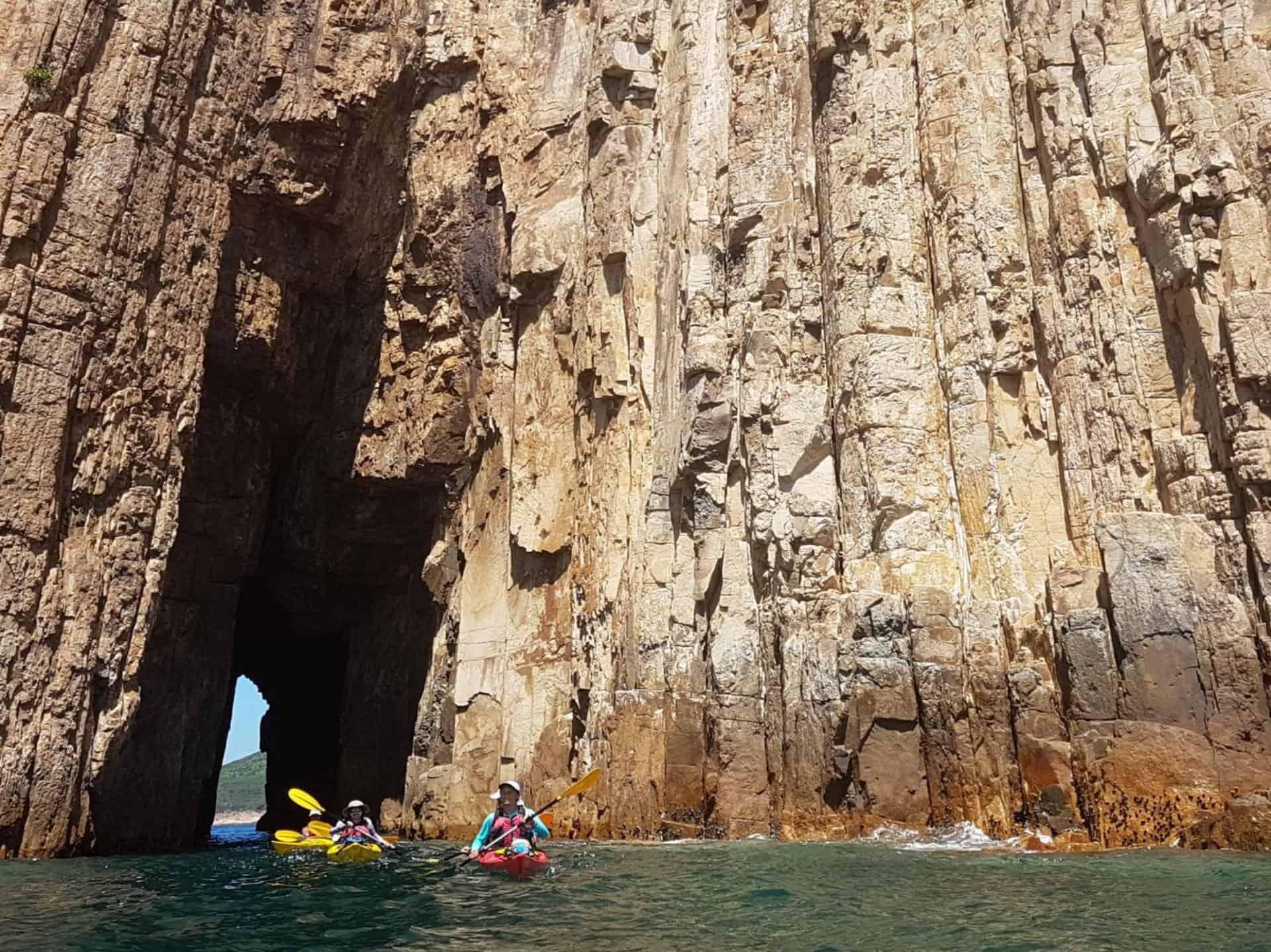 Sea Kayak Hong Kong UNESCO Geopark 3