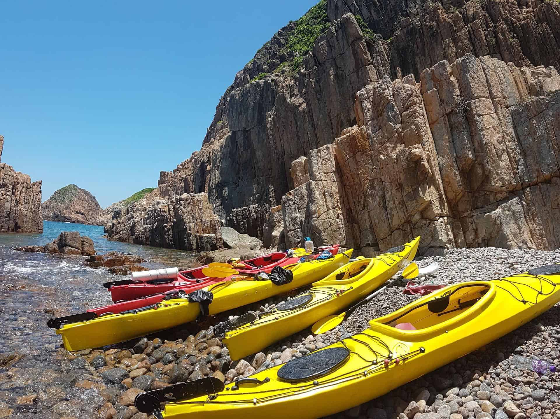 Sea Kayak Hong Kong UNESCO Geopark 4