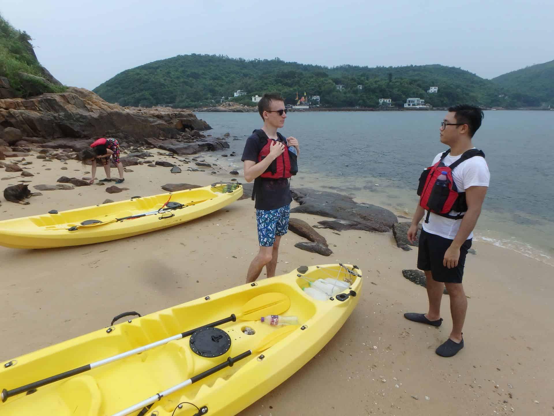 Dog island beach group