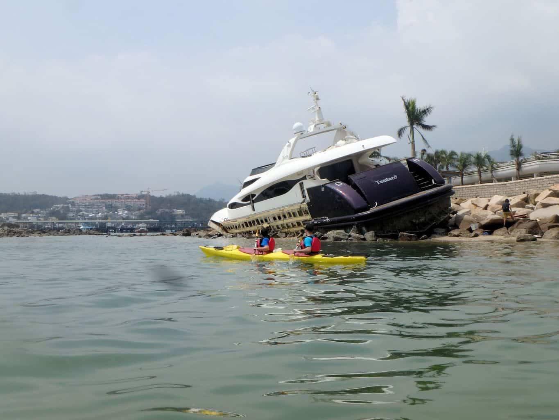 Sea Kayak Hong Kong UNESCO Geopark