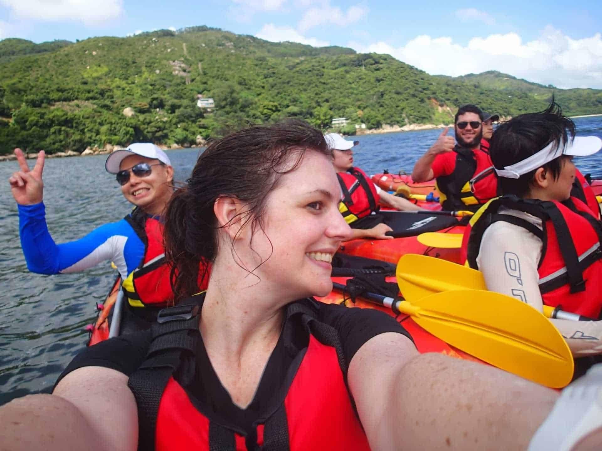 Sea Kayak Hong Kong unesco geopark 2