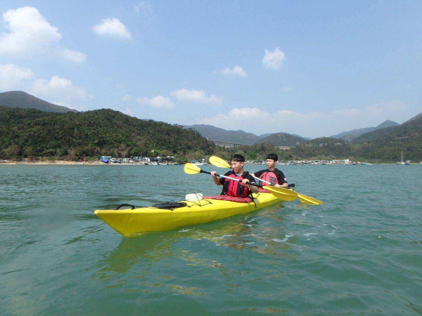 Sea-Kayak-Hong-Kong Tai Tam Tour