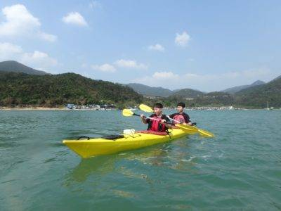 Sea-Kayak-Hong-Kong Tai Tam Tour