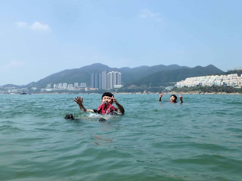 Tai Tam Tour sea kayak Hong Kong