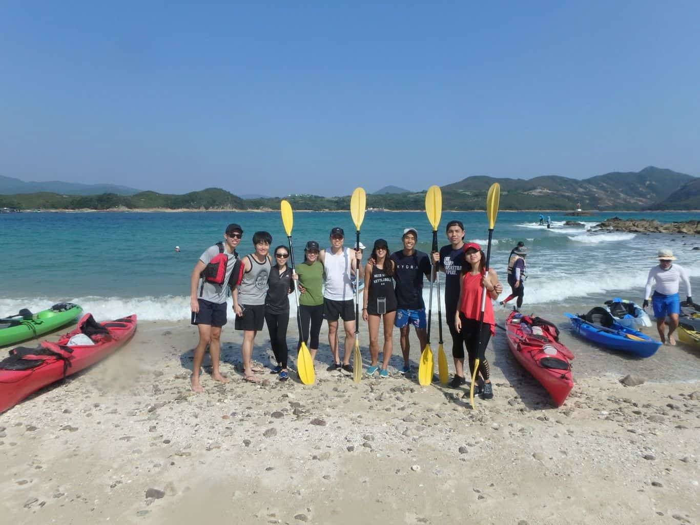 UNESCO Global Geopark Hong Kong, Sharp Island sea kayaking