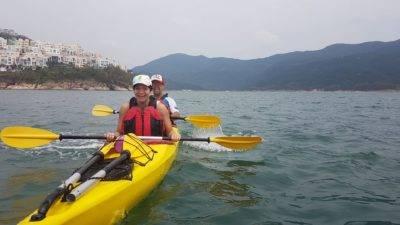 Sea Kayak Hong Kong oCT 01 2018 Tai Tam Tour_04