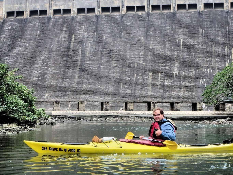 Kayaking Tai Tam Bay