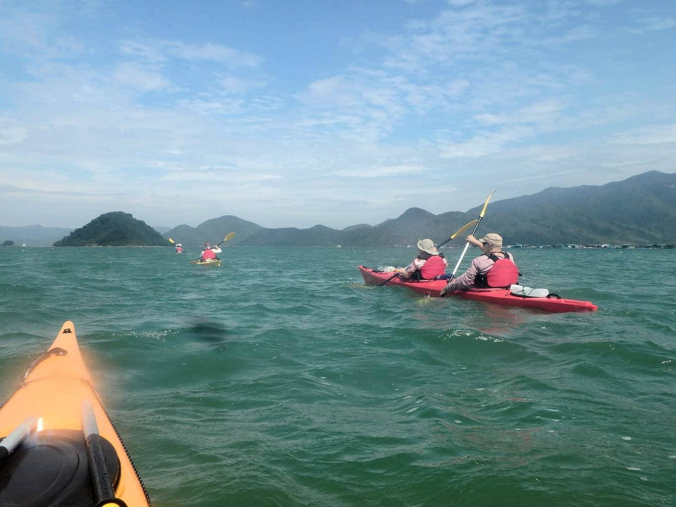 Sea Kayak Hong Kong Double Haven 3 day expedition departure