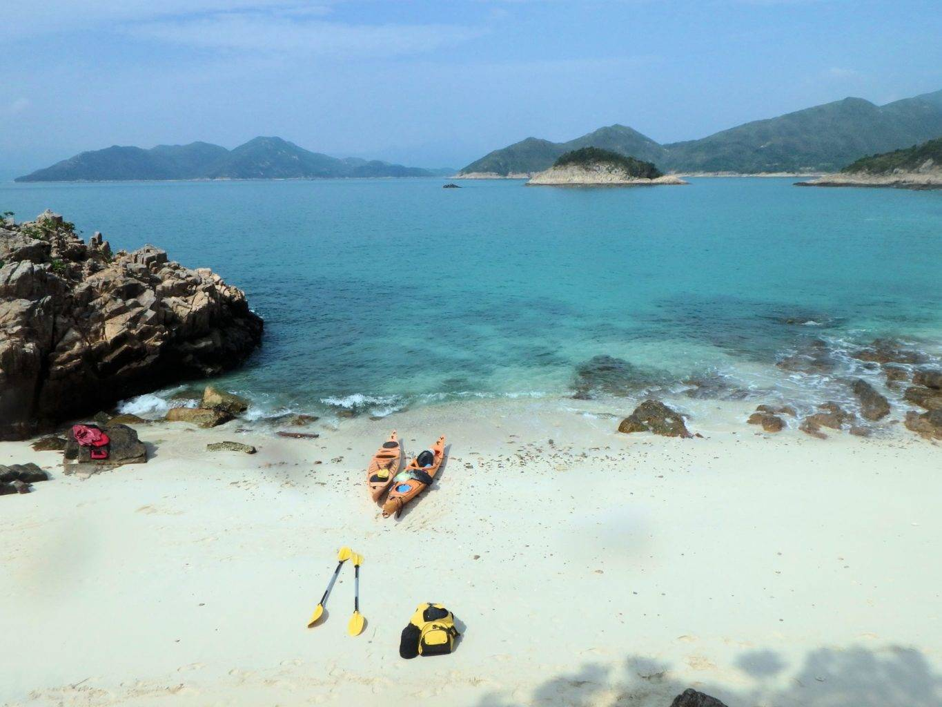 UnESCO 2 day sea kayak trip Hong Kong