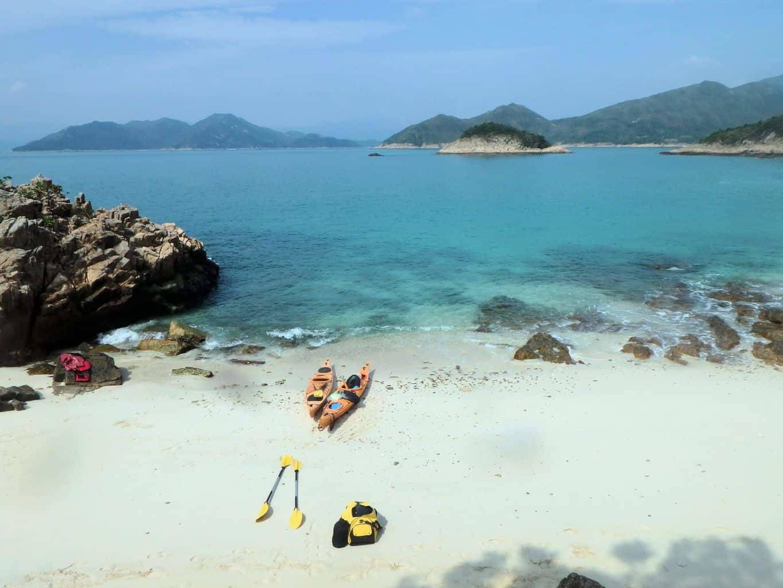 UnESCO 2 day sea kayak trip Hong Kong