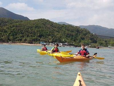 Sea Kayak Hong Kong Nov 5 Tai Tam 02
