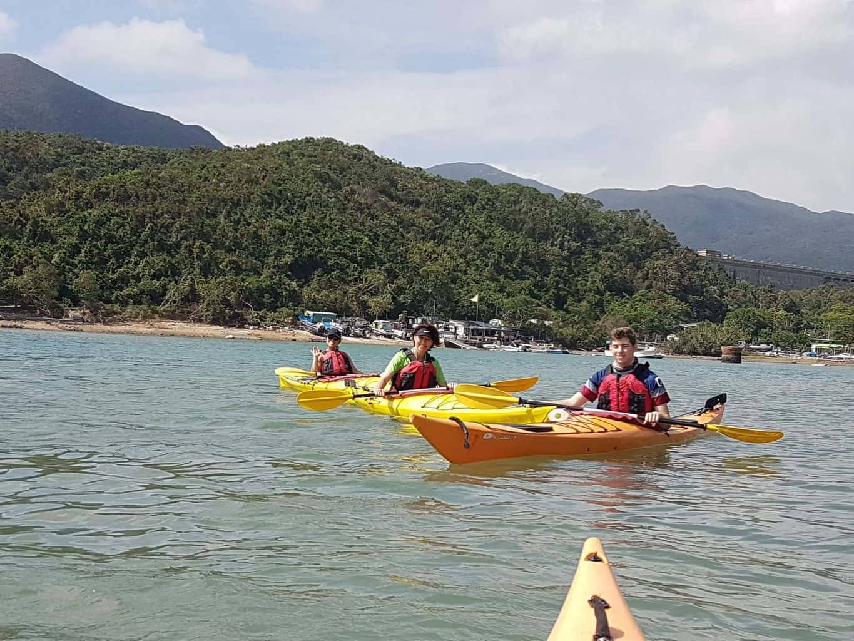Sea Kayak Hong Kong Nov 5 Tai Tam 02