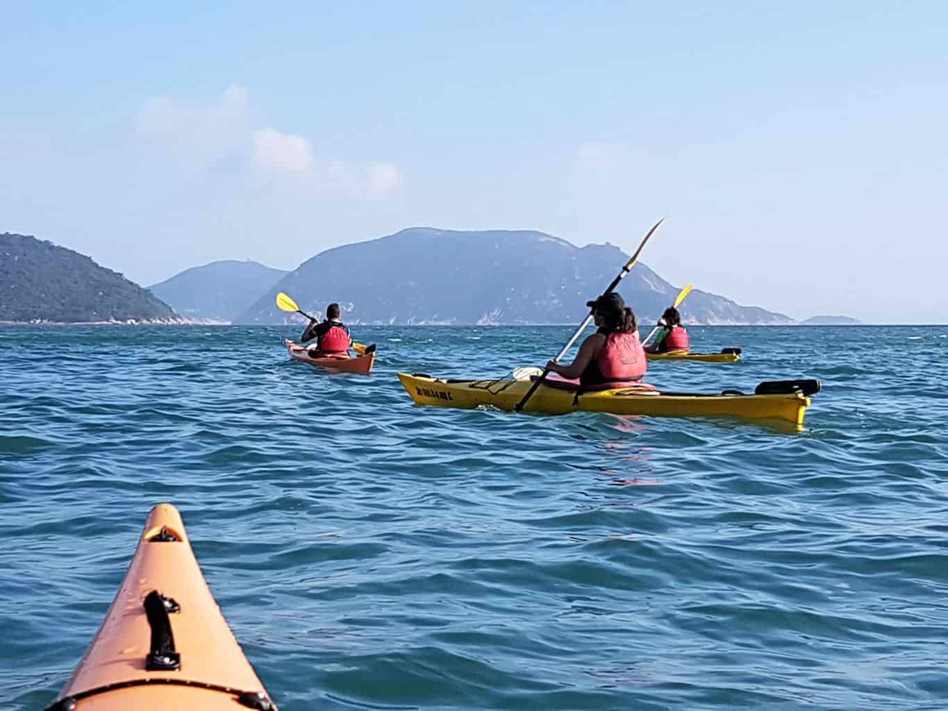 Sea Kayak Hong Kong Tai Tam