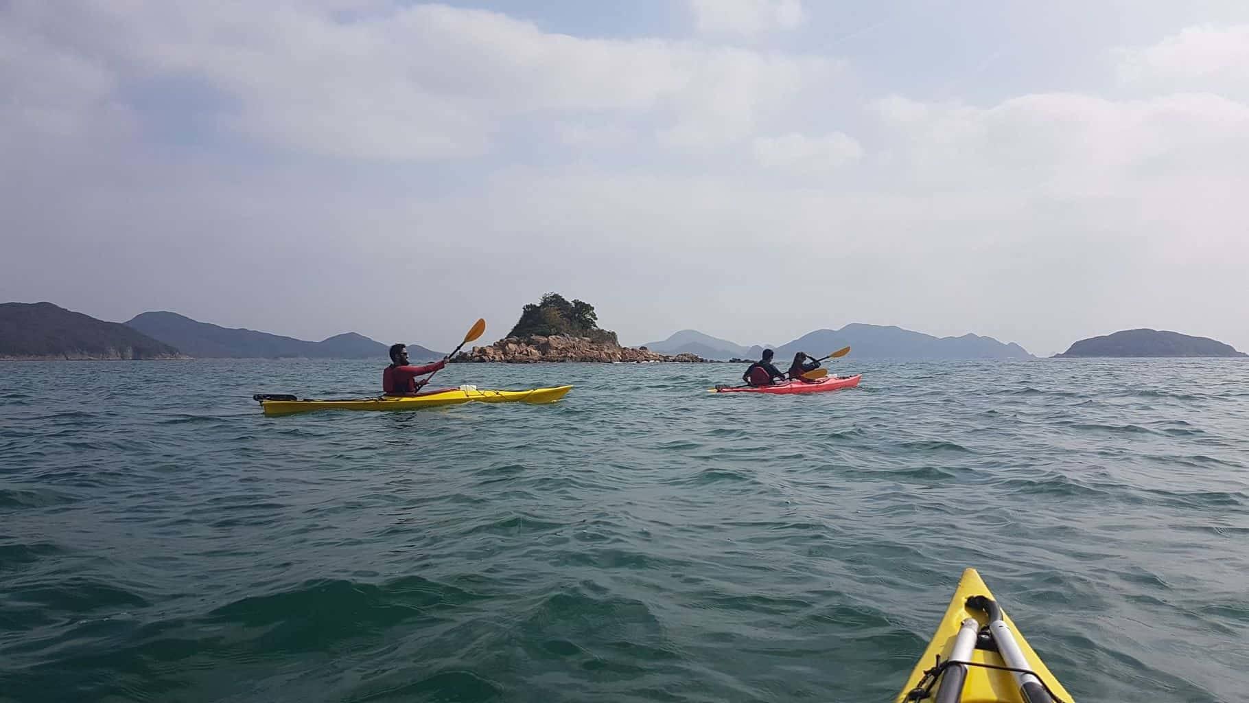 Sea Kayak Hong Kong Dec 28 UNESCO Global Geopark
