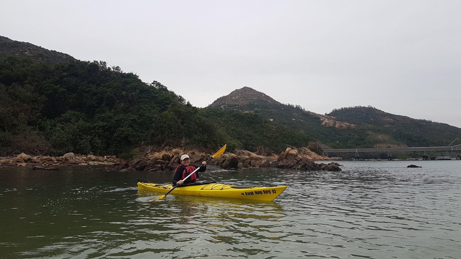 06 Jan 2019 Sea Kayak Control Course Lamma Island