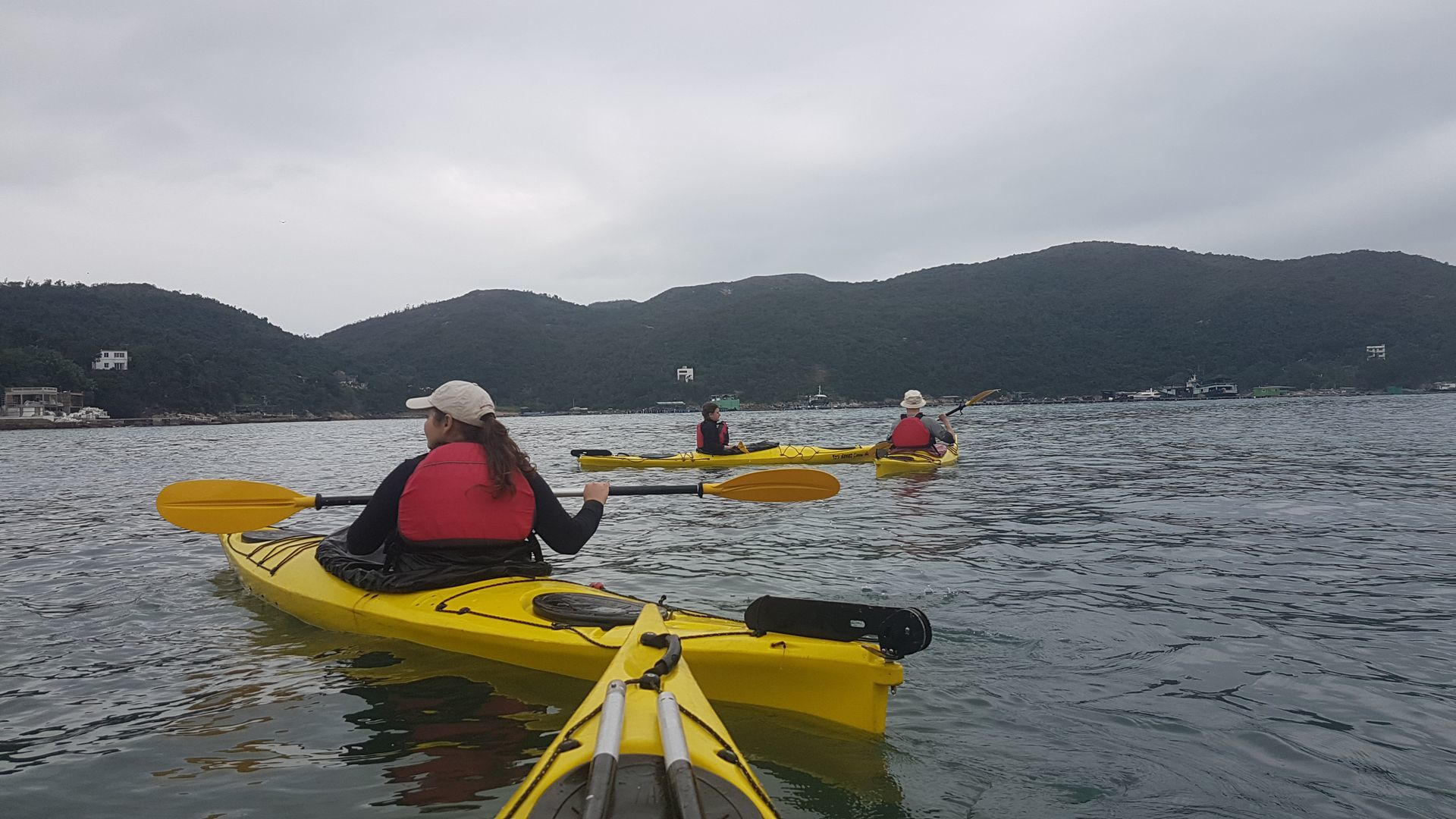 06 Jan 2019 Sea Kayak Control Course Hong Kong