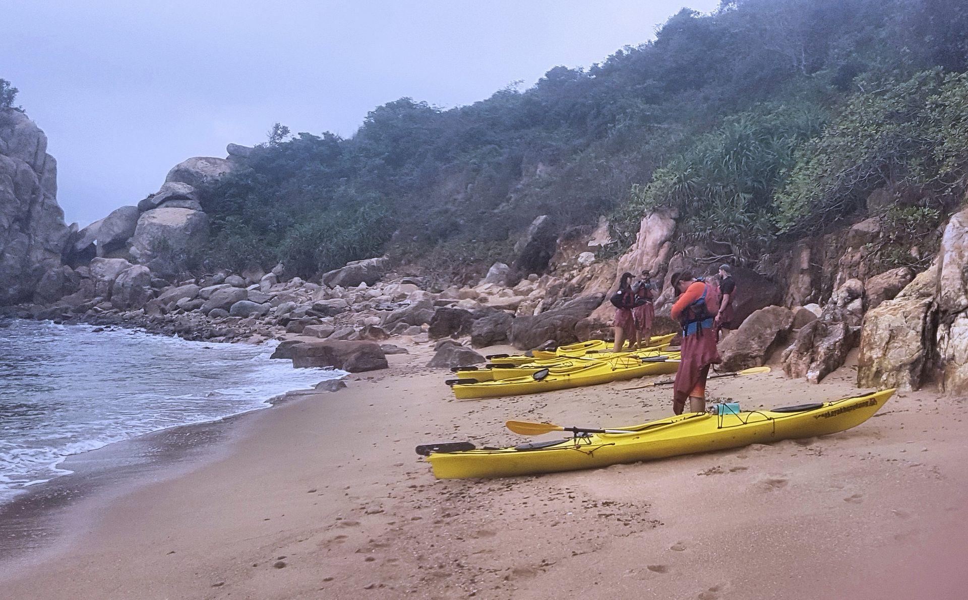 13 Jan 2019 Nth Lamma Island Sea Kayak Hong Kong