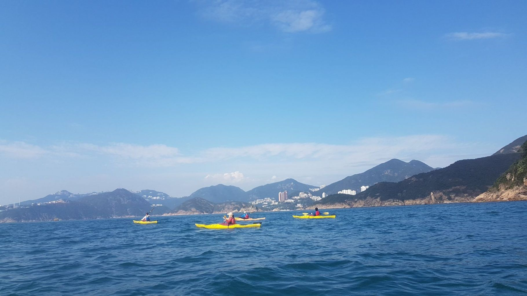 20 Jan 2019 sea kayakhong hong kong to lamma island 56