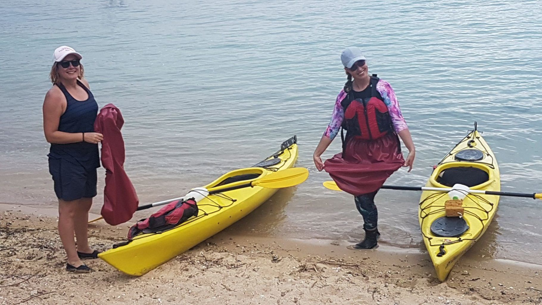 21 Dec 2018 UNESCO Geopark 1 day sea kayak trip Hong Kong