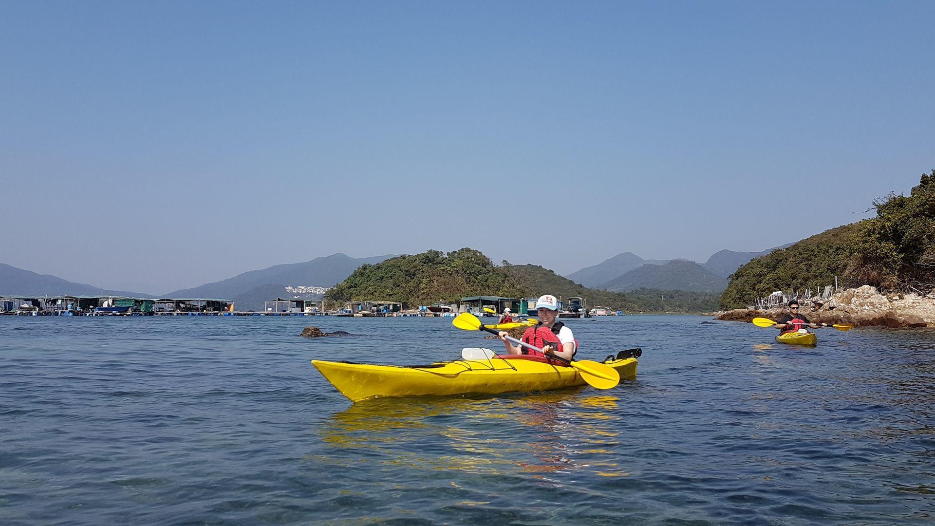 24 Jan 2019 UNESCO Geopark 1 day sea kayak trip Hong Kong